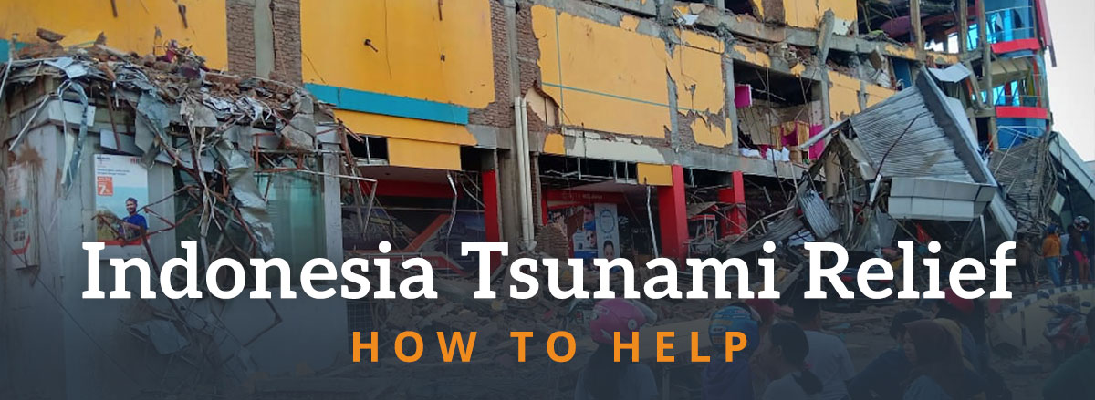 Donate to Indonesia Earthquake and Tsunami Relief