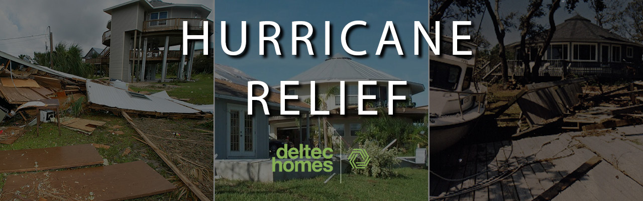 Deltec Homes Hurricane Relief