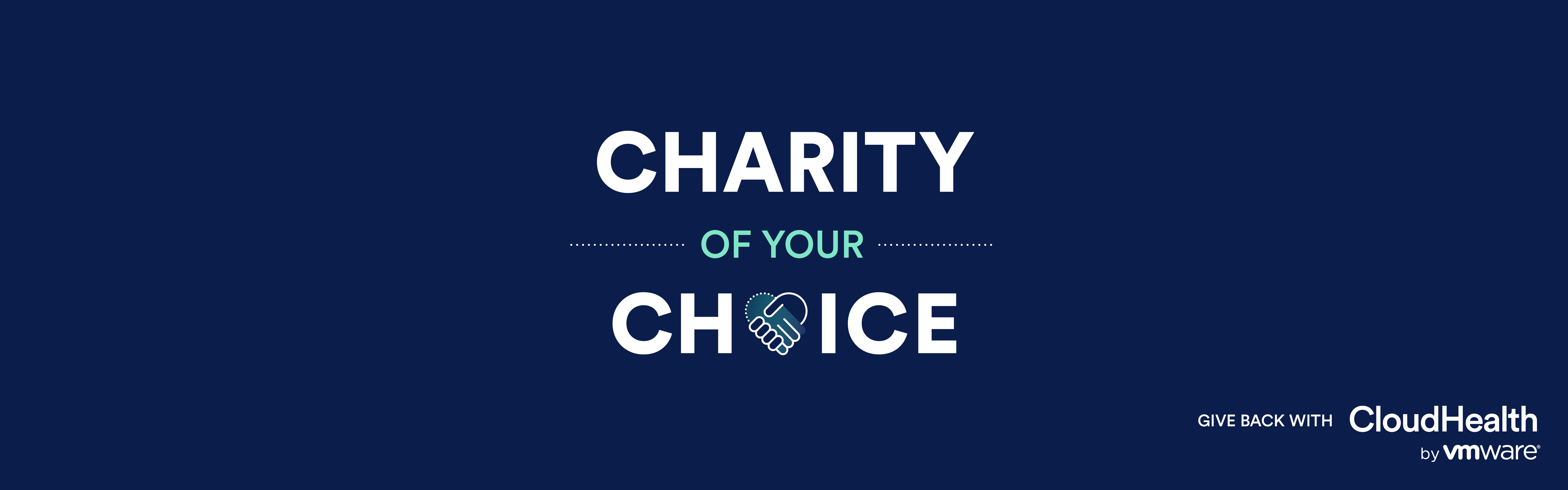 CloudHealth Charity Of Your Choice