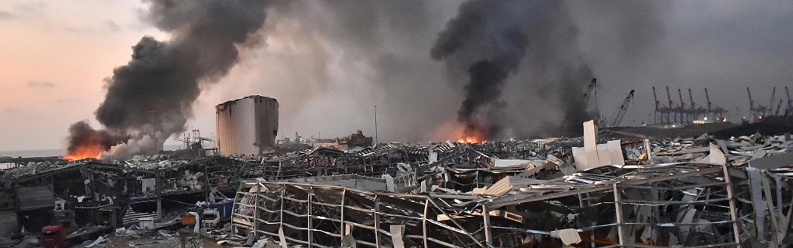 Two colossal explosions caused devastating damage in Beirut, Lebanon.